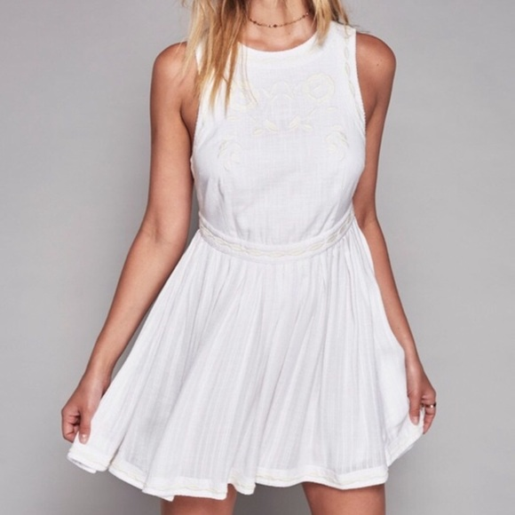 Free People Dresses & Skirts - Free People Birds of feather dress